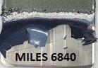 330 Gallon MILES 6840, Heated Aluminum & Steel Strip Non-Hazardous