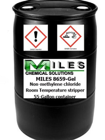 55-Gallon MILES 8659-Gel Non-methylene Chloride Stripper