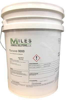 5-Gallon Pail REMOVE  9000 Dissolver, Use at Room Temperature