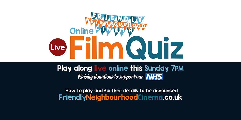 LIVE Online Film Quiz - Friendly Neighbourhood Cinema