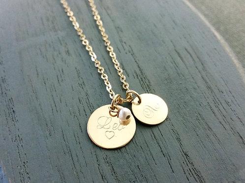 Round Pendants Necklace