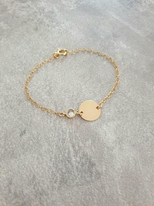 Princess Gold Bracelet