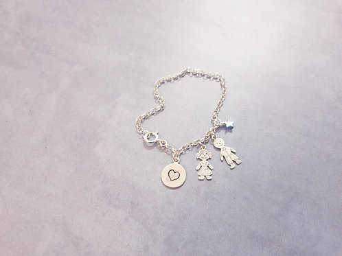 The Kids Pendants Necklace