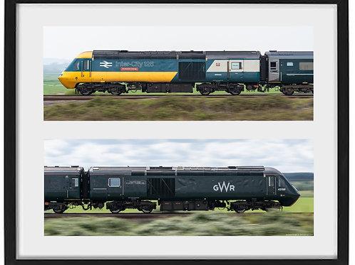 43002 & 43198 framed