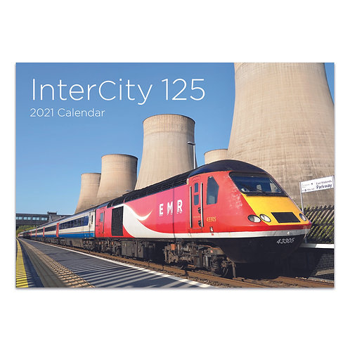 InterCity 125 2021 Calendar