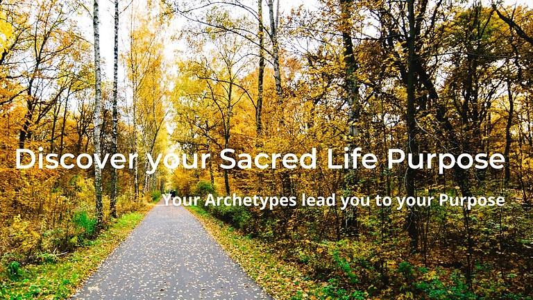 Discover your Sacred Life Purpose