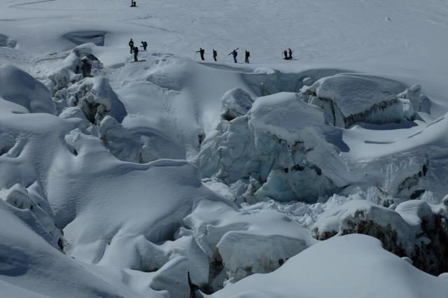 """Mont Blanc - la """"Jonction"""""""