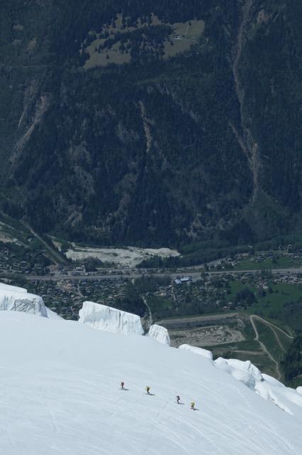 Mt Blanc - Grands Mulets