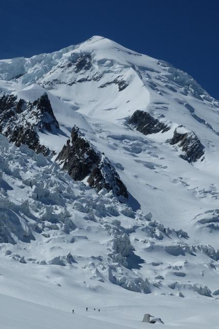 Mt Blanc - Arête N du Dôme du Goûter