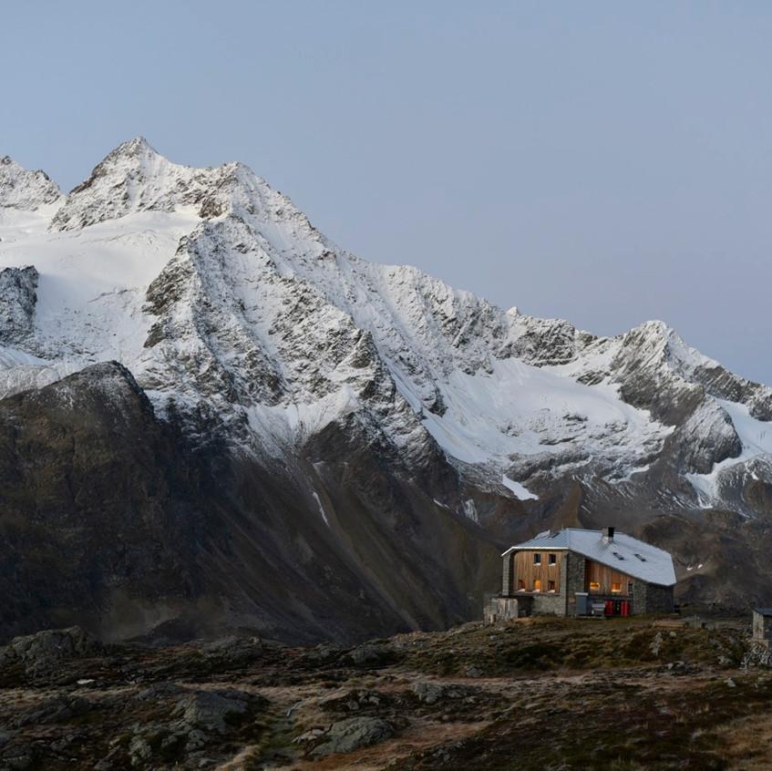La cabane au petit matin
