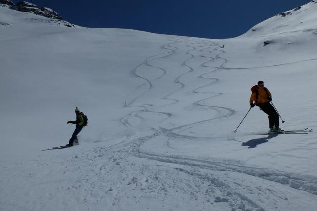 Belle neige du Val de Rhèmes