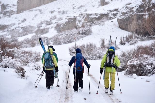 Retour de ski