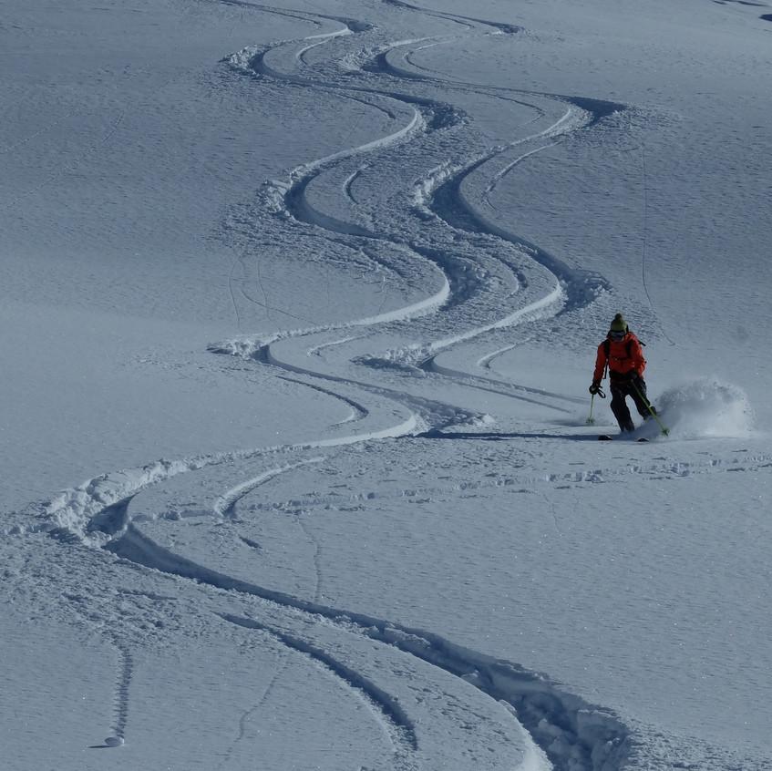 Belle neige du Valais central