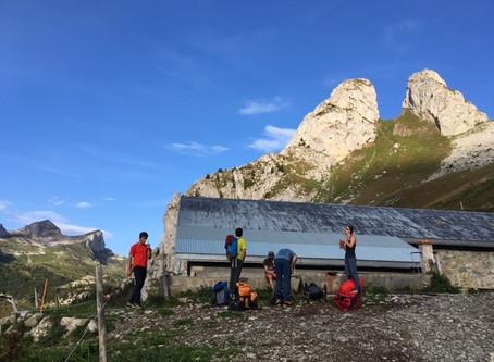 Alpinisme à Taney - Grande Jumelle