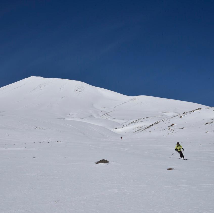 Les flancs du Mt Erciyes