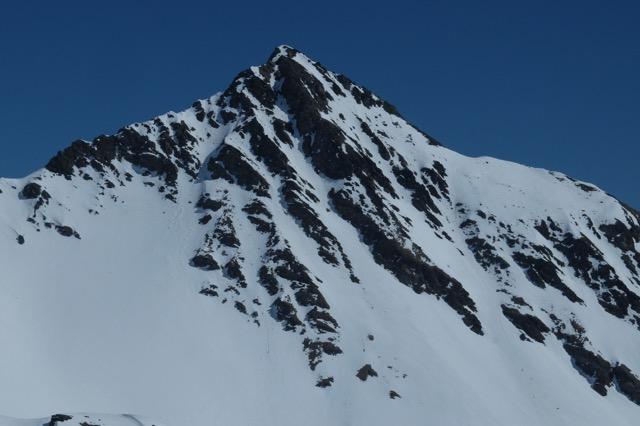 Mt Fallère, versant ouest