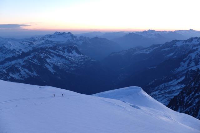 Mt Blanc - Dôme du Goûter