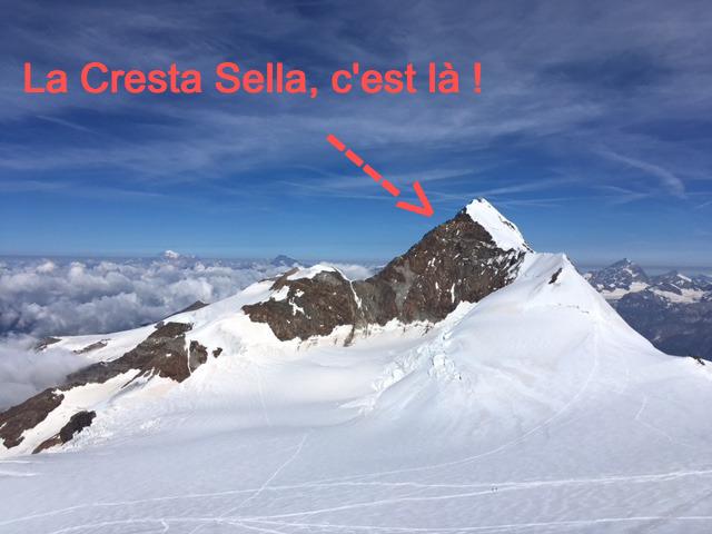 La Cresta Sella, c'est là !