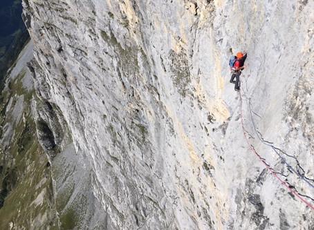Le Tällistock, quand la montagne vire à l'escalade (et vice-versa!)
