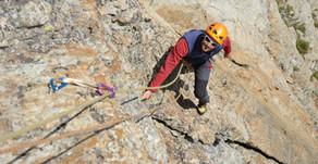 Corno Stella: escalade plaisir en milieu montagne