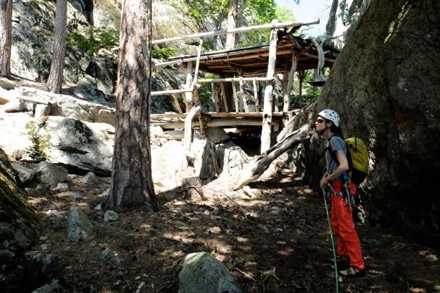 La cabane de Bouddha