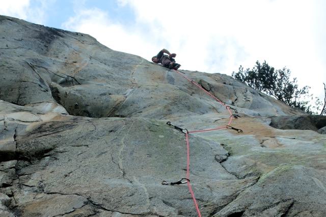 Scex du Léman - beau granite