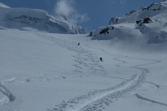 Grand Combin - glacier Corbassière