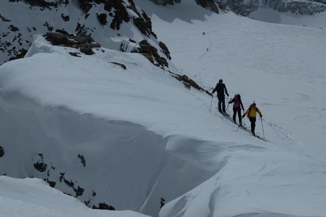 Derniers mètres du Mt Gelé