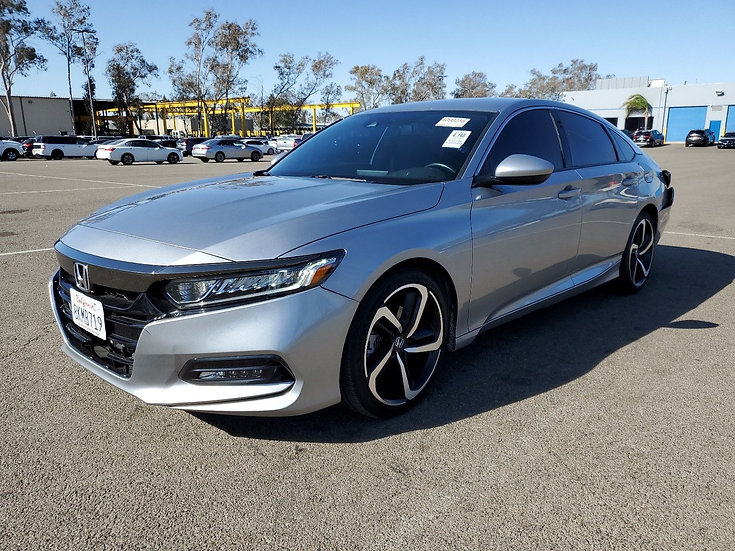 LOT 109134 - 2019 HONDA ACCORD SPORT