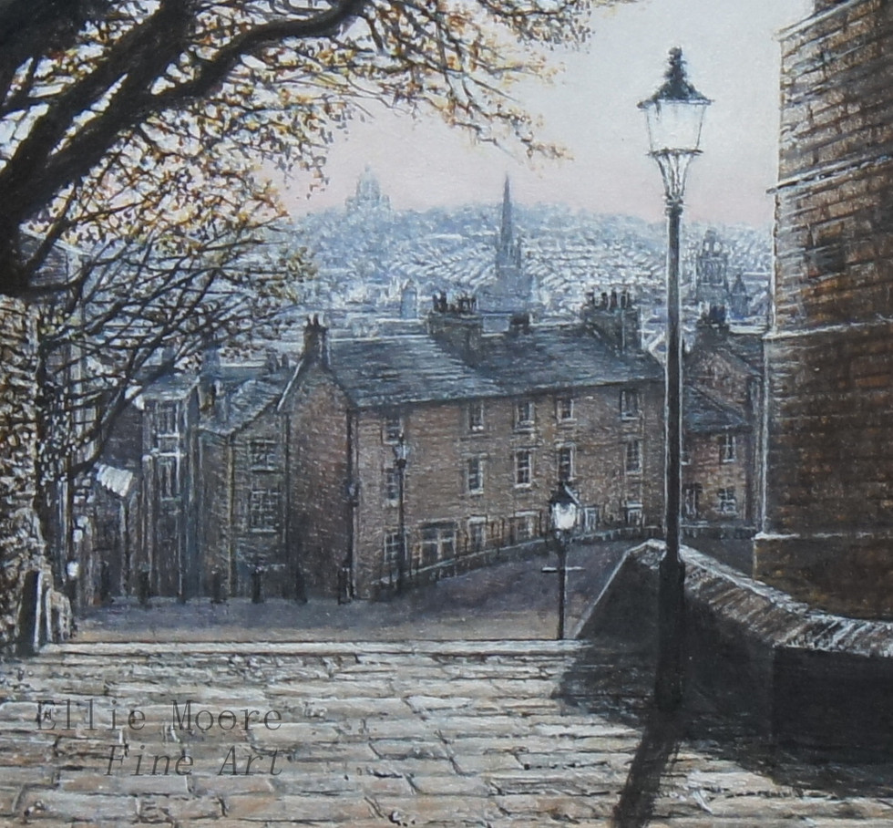 Beside Lancaster Castle Detail