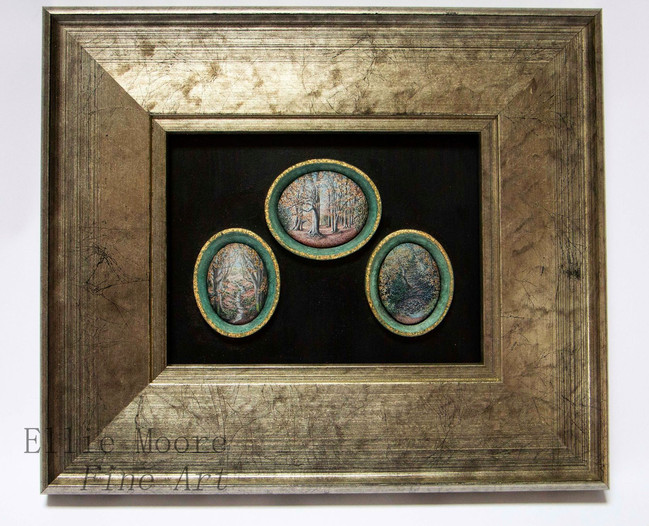 The Beech Tree Ring Triptych