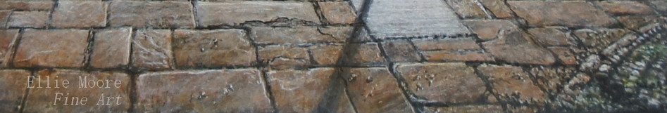 Beside Lancaster Castle Detail