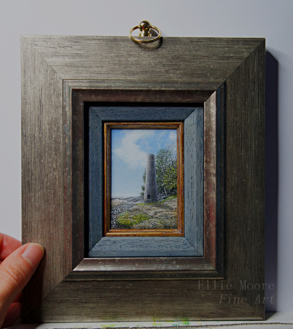 Jenny Brown's Point Framed