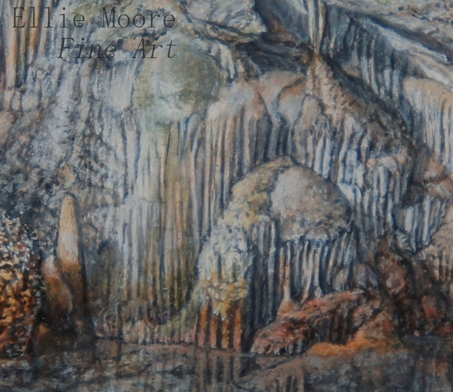 'Cathedral Cave' Detail 3