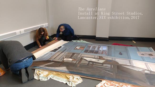Installing The Aurelians at King Street Studios