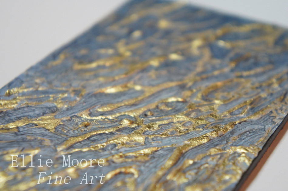 'Lines in the Sand III' Detail