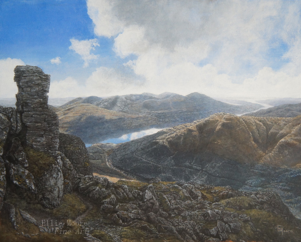 Down to Loch Long (from the Summit of the Cobbler)