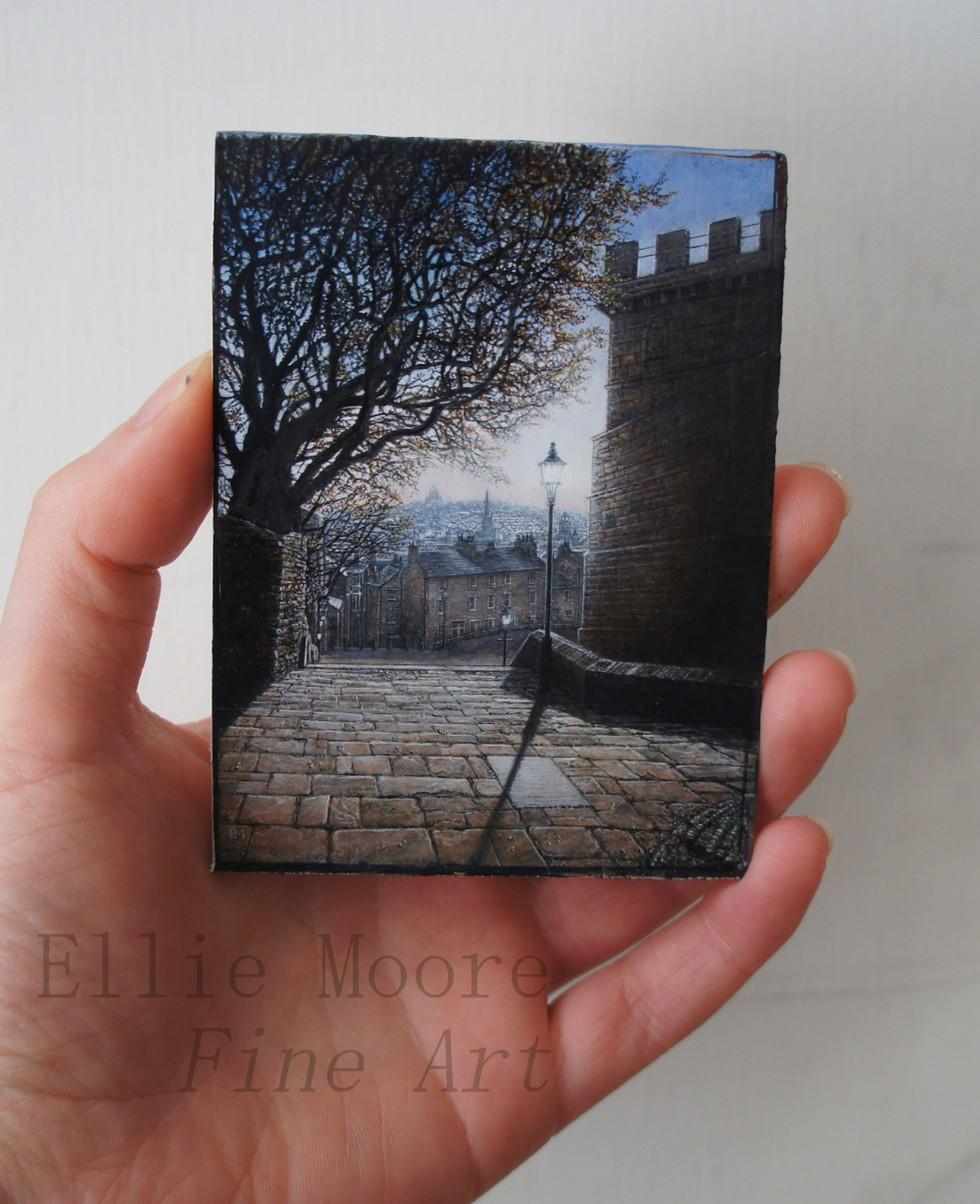 Beside Lancaster Castle