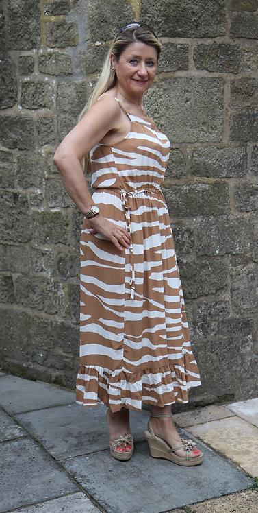 Masai Olivia Dress - Chipmunk