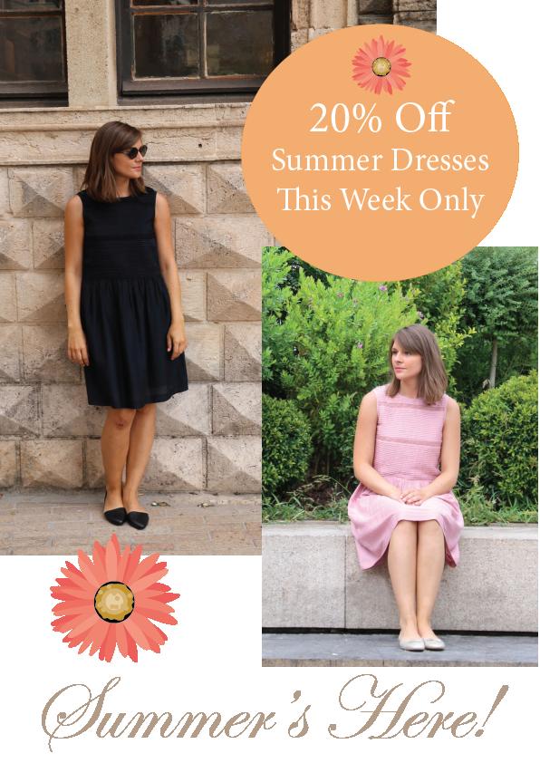 Summer Dress Promotion 20% off