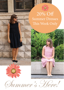 Summer Dress Promotion 20% off
