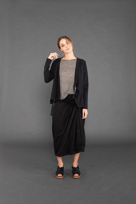 Mama B Caprera Skirt  - Black