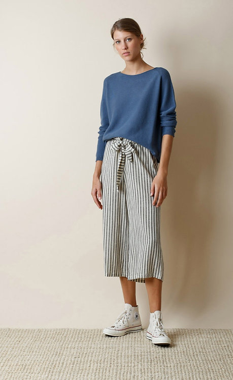 Indi and Cold Striped Wide Trousers