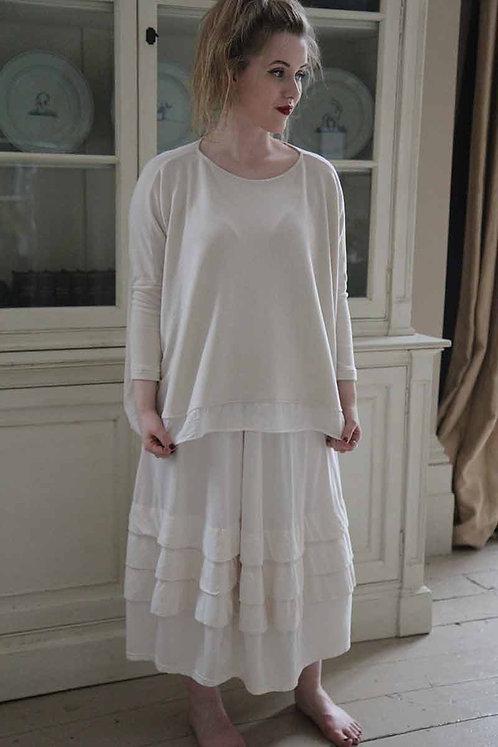 Mama B Spirea Skirt - Osso (cream]