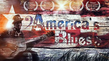 53 America's Blues Poster with Laurels 1