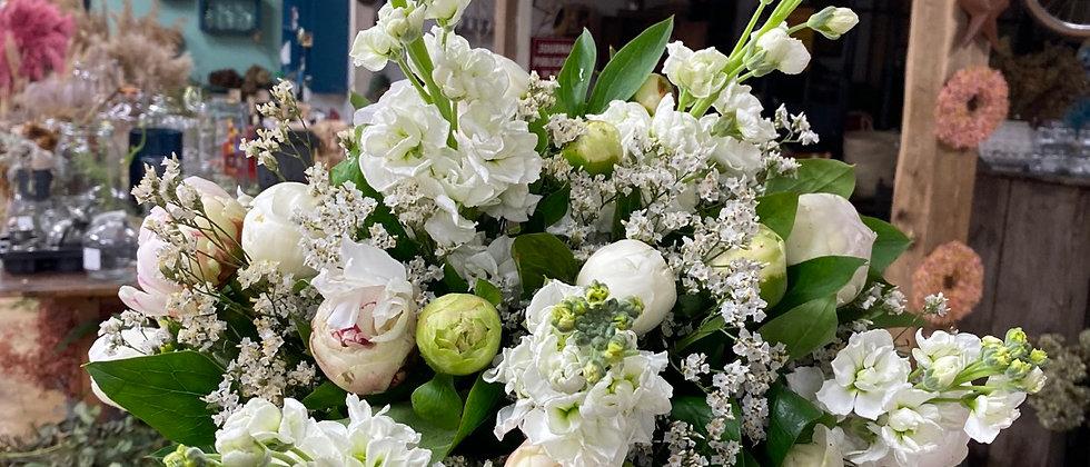 Bouquet Mumsy blanc