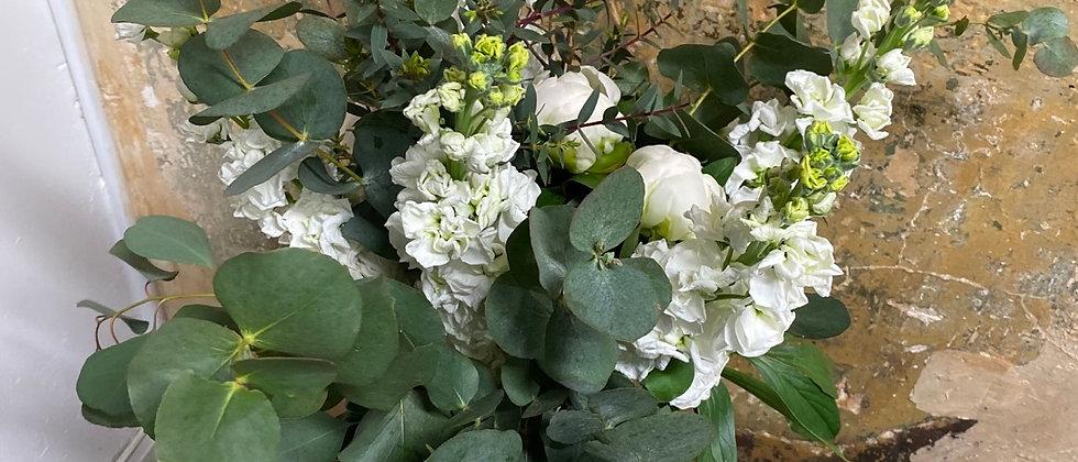 Bouquet Nana blanc