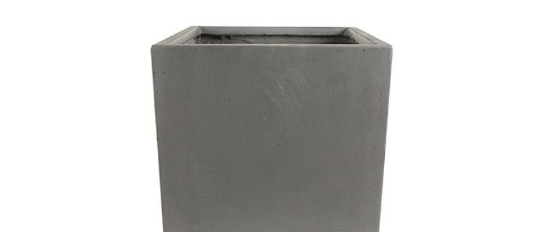 Pot Static gris L