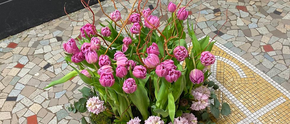 Fagot fleurit et branchage