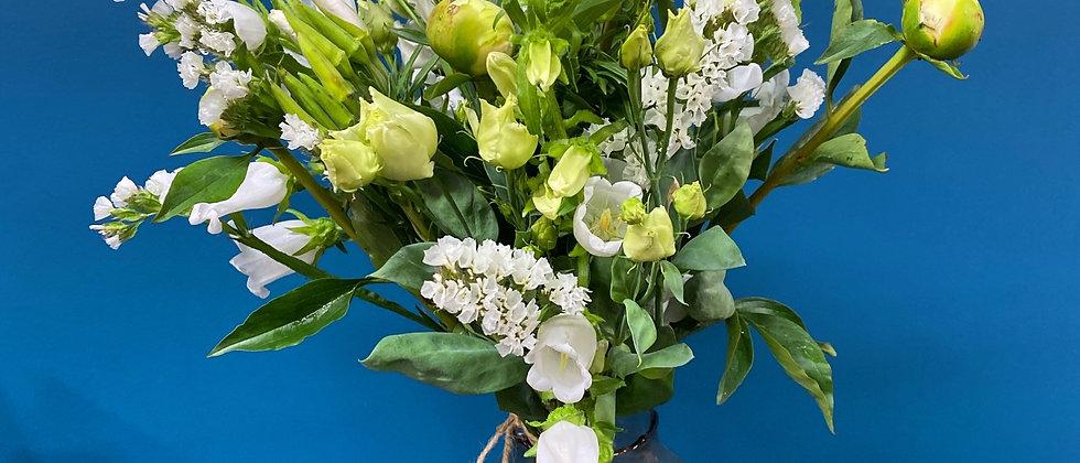 Bouquet Ompa blanc